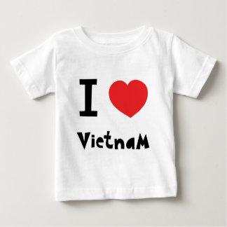 Ik houd van Vietnam Baby T Shirts