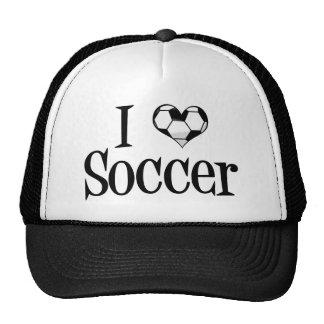 Ik houd van Voetbal Pet Met Netje