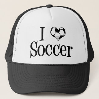 Ik houd van Voetbal Trucker Pet