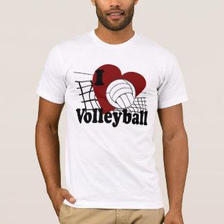 Ik houd van Volleyball T Shirt