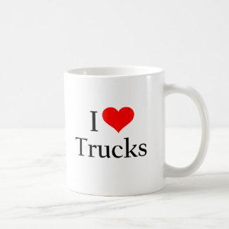 Ik houd van Vrachtwagens Koffie Mok
