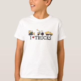 Ik houd van Vrachtwagens T Shirt