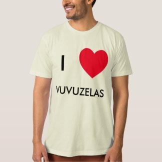 Ik houd van VUVUZELAS!  I hartVUVUZELAS t-shirts