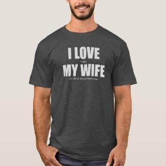 Ik houd van wanneer Mijn Vrouw me Paddleboarding T Shirt