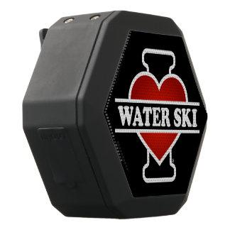 Ik houd van Waterski Zwarte Bluetooth Speaker