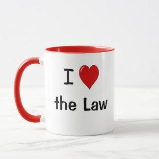Ik houd van Wet I Hart het Citaat van de Advocaat Mok