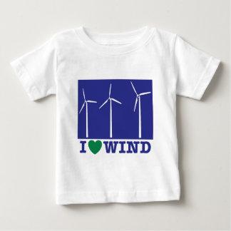 Ik houd van Wind Baby T Shirts