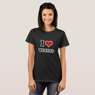 Ik houd van Wolven T Shirt