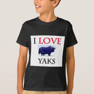 Ik houd van Yaks T Shirt