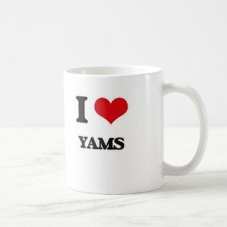 Ik houd van Yams Koffiemok