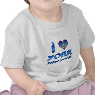 Ik houd van York, New York T Shirt