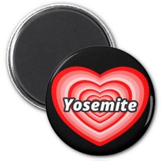 Ik houd van Yosemite Magneet