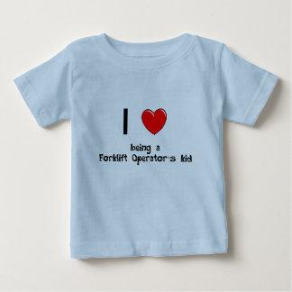 Ik houd van zijnd de T-shirt van het Kind van een