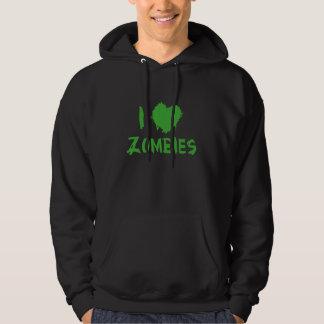 Ik houd van Zombieën Hoodie