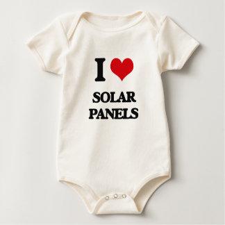 Ik houd van Zonnepanelen Baby Shirt