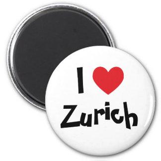 Ik houd van Zürich Magneet