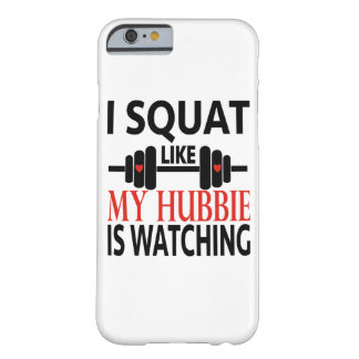 Ik hurk als Mijn Hubbie let op Barely There iPhone 6 Hoesje