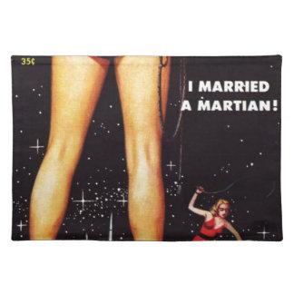 Ik huwde martian placemat