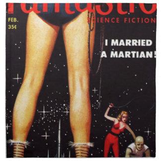 Ik huwde martian servet