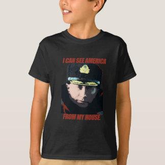 Ik kan Amerika aan mijn huis merken T Shirt