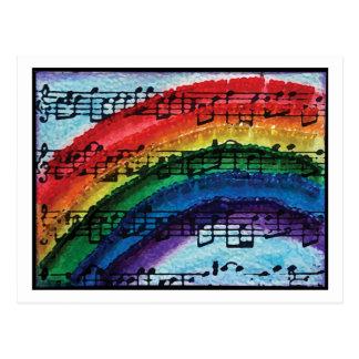Ik kan een Regenboog zingen Briefkaart