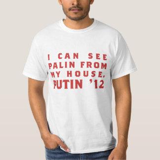 Ik kan Palin aan mijn huis merken: Putin '12 T Shirt