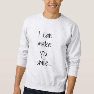 Ik kan u het Mannen van glimlachFlirty maken Trui