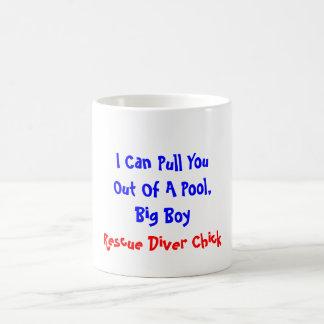 Ik kan u uit een Pool, Grote Jongen, Redding D… Koffiemok