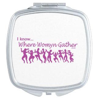 Ik ken… compacte WWG Handtas Spiegeltje