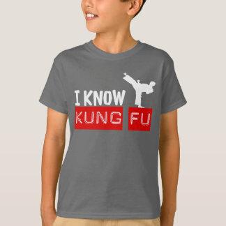 Ik ken het Grafische T-shirt van de KUNGFU