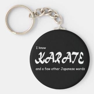 Ik ken Karate en andere Japanse Woorden. Grappig Sleutelhanger