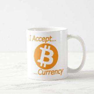 Ik keur Type 02 van Munt Bitcoin goed Koffiemok
