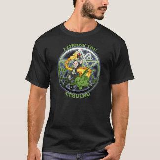 Ik kies Cthulhu: Groen T Shirt