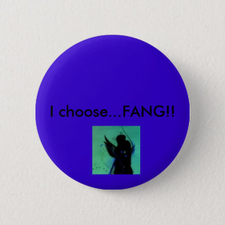 Ik kies… hoektand! ronde button 5,7 cm