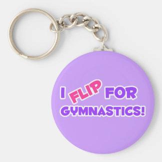 Ik knip voor Gymnastiek weg! Sleutelhanger