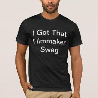 Ik kreeg Die T-shirt van Swag van Filmmaker