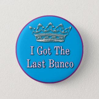 ik kreeg laatste bunco ronde button 5,7 cm