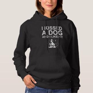 Ik kuste een Hond en ik hield van het Hoodie