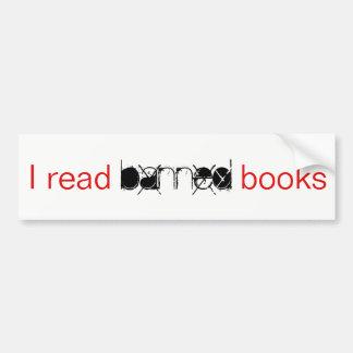 Ik las de Verboden Sticker van de Bumper van