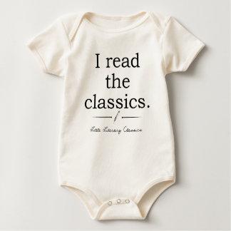 Ik las het baby van het schrijvers uit de baby shirt
