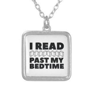 Ik las voorbij Mijn Bedtijd Zilver Vergulden Ketting