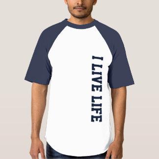 Ik leef het Atletische Grafische Ontwerp van het T Shirts