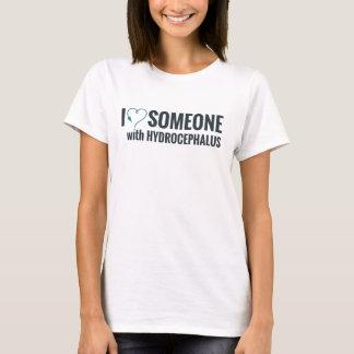 Ik leid Hart af iemand met Hydrocephalus T Shirt