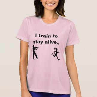 Ik leid levend zombie lopend overhemd te blijven t shirt