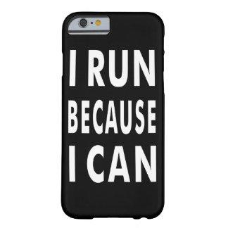 Ik loop omdat ik Iphone 6/6s, nauwelijks daar Barely There iPhone 6 Hoesje