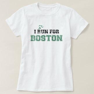 Ik LOOP VOOR (het verontruste) Overhemd van BOSTON T Shirt