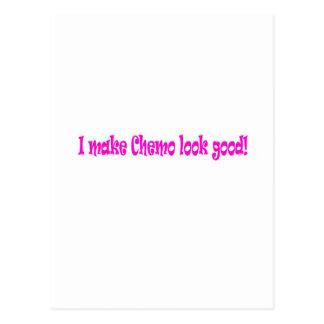 Ik maak goed chemo kijken briefkaart
