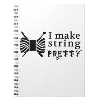 Ik maak tot Koord Mooie Ambachten ♥ & Garen Notitieboek