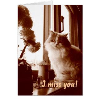 Ik mis u! briefkaarten 0