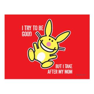 Ik neem na Mijn Mamma Briefkaart
